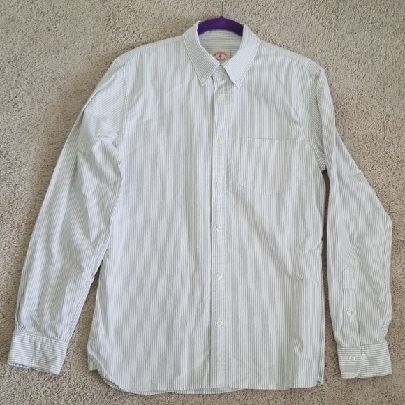 Brooks Brothers Other - Brooks Brothers Stripped Oxford Polo Button-Down